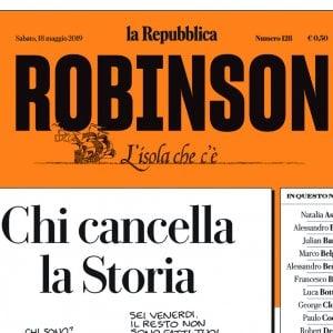 Auguri e lunga vita al nuovo Robinson: da Roberto Saviano a Zerocalcare