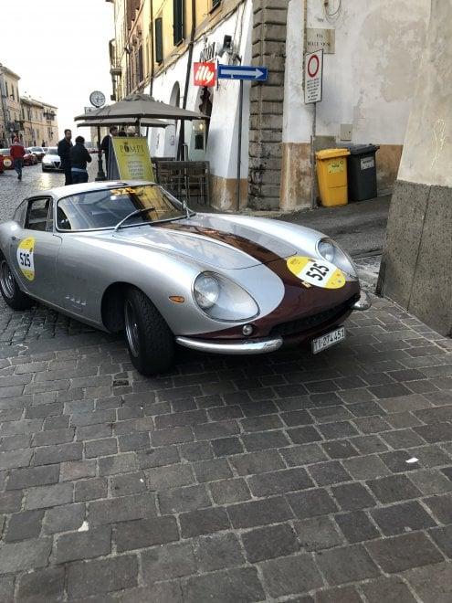 Ferrari Tribute, che show alla Mille Miglia