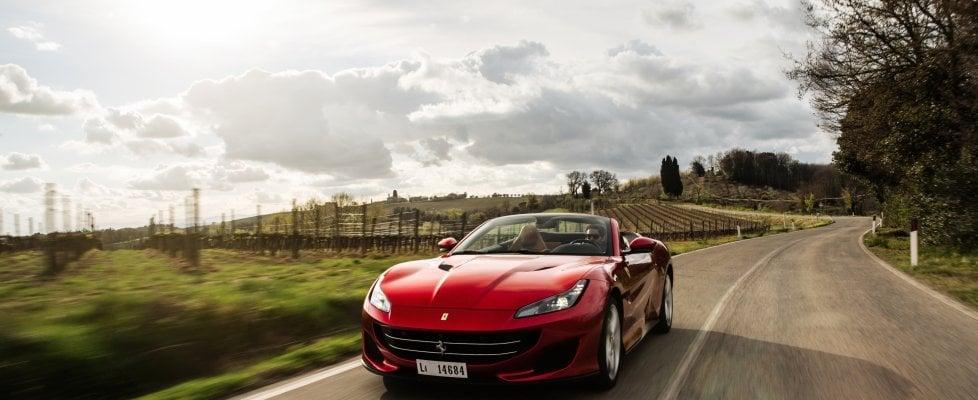 Alla Mille Miglia con la nuova Ferrari Portofino