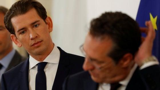 Austria, si dimette il vice-cancelliere Strache. Kurz lavora per il voto a settembre