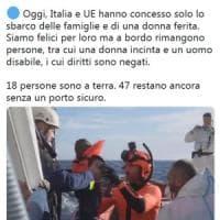 """Sea Watch: """"Chiediamo a Salvini di togliere il divieto"""". La nave è attraccata a ..."""