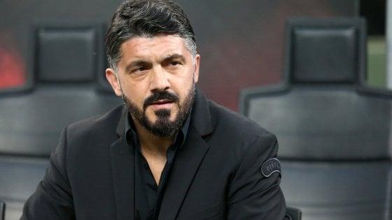 """Milan, Gattuso: """"Padroni del nostro orgoglio ma non del nostro destino. Ma conto sulla Juve"""""""