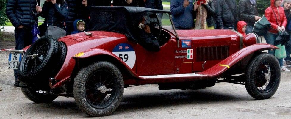 Come ai vecchi tempi: l'Alfa trionfa alla Mille Miglia