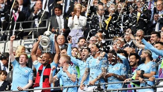 FA Cup, il City travolge il Watford 6-0 e conquista uno storico 'treble'