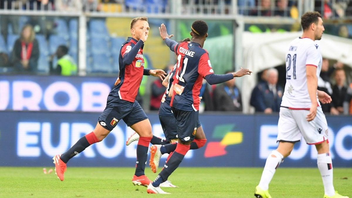 Serie A: Genoa-Cagliari 1-1: Criscito tiene a galla il Grifone al 90 ...