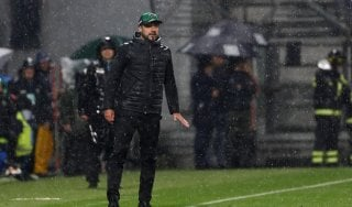 """Sassuolo, De Zerbi: """"Potevamo anche vincere. De Rossi? Bandiere vanno rispettate"""""""