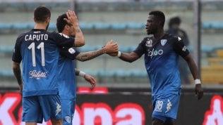 Empoli, poker al Toro: scavalcato il GenoaIl Parma batte la Fiorentina e si salvaStasera Juve-Atalanta e Napoli-Inter