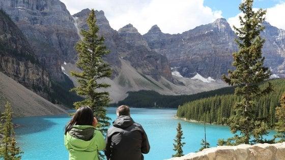 In Canada, trekking sulle Montagne Rocciose