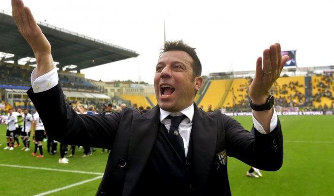 D'Aversa: ''Questo Parma non finisce mai di stupirmi''