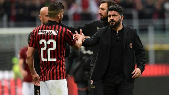 """Milan, Gattuso: """"Credo di essere bravino... Spero di proseguire il mio lavoro qui"""""""
