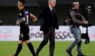 """Napoli, Ancelotti: """"Qui sto bene, spero di restare altri due anni"""""""