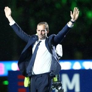 """Juventus, Allegri: """"Futuro? Con l'occasione giusta non mi fermo"""""""