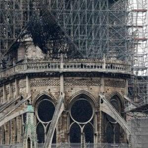 """Paolo Vannucci: """"Notre-Dame non è ancora salva. Un collasso al livello della volta resta possibile"""""""
