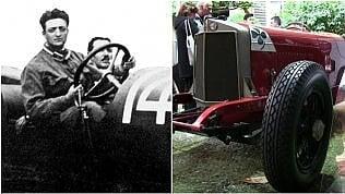 Quell'Alfa Romeo (la prima con i freni) su cui correva Enzo Ferrari: così è nata la leggenda