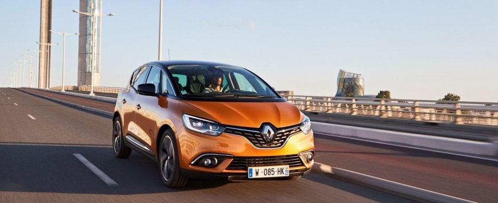 Renault Scenic, un campione sotto il cofano