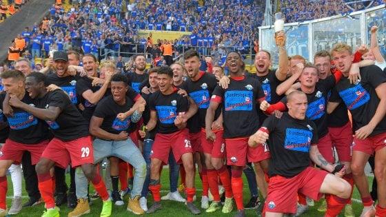 Germania, l'incredibile elastico del Paderborn: tre retrocessioni, ma ora c'è il ritorno in Bundesliga