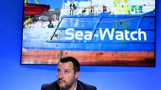 """Sea Watch, Anm: """"Le parole di Salvini delegittimano la magistratura. E sono intimidatorie"""""""