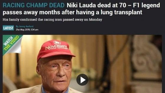 F1, è morto Niki Lauda, aveva 70 anni. Tra i migliori piloti di sempre