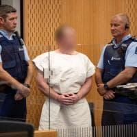 Nuova Zelanda, incriminato per terrorismo l'autore della strage di Christchurch