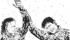 """Niki e Ayrton, il tributo agli """"eroi"""" della F1 del disegnatore Marvel"""