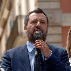 Una busta con un proiettile calibro 9 per Matteo Salvini