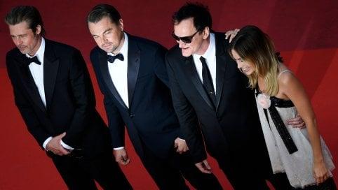 Tarantino travolge il festival con Brad Pitt e Leonardo DiCaprio Video il trailer del film