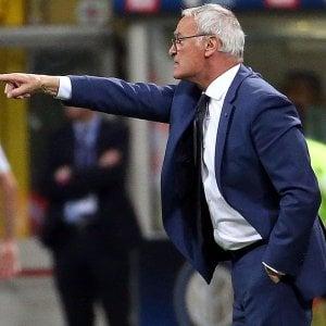 """Roma, Ranieri: """"Partita col Genoa il maggior rimpianto"""""""