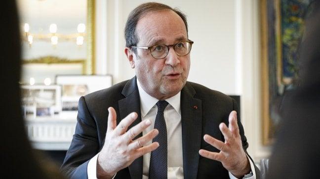 """Hollande: """"Il pericolo è che dal voto esca un'Europa bloccata"""""""