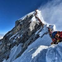 C'è folla sull'Everest