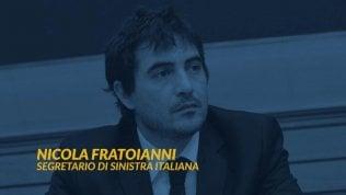 Europa, governo, sinistra: videoforum con Nicola Fratoianni