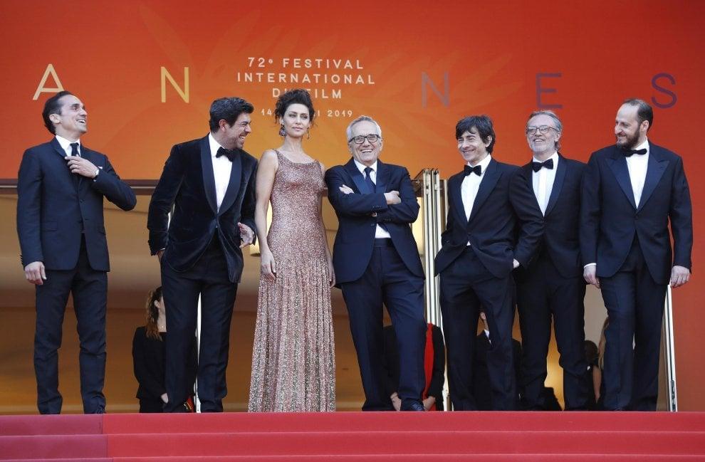 Cannes, Bellocchio, alla corte del regista anche Leonardo DiCaprio e Orlando Bloom che sfilano sul red carpet