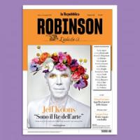 Torna Robinson con Jeff Koons