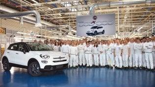 Fiat 500X, è record di produzione