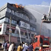 India, almeno 19 studenti muoiono in un incendio