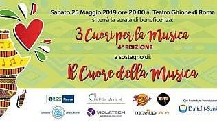 """""""Il cuore della musica"""", a Roma i """"Cardiologi musicisti"""" in concerto per la lotta alla morte cardiaca improvvisa"""