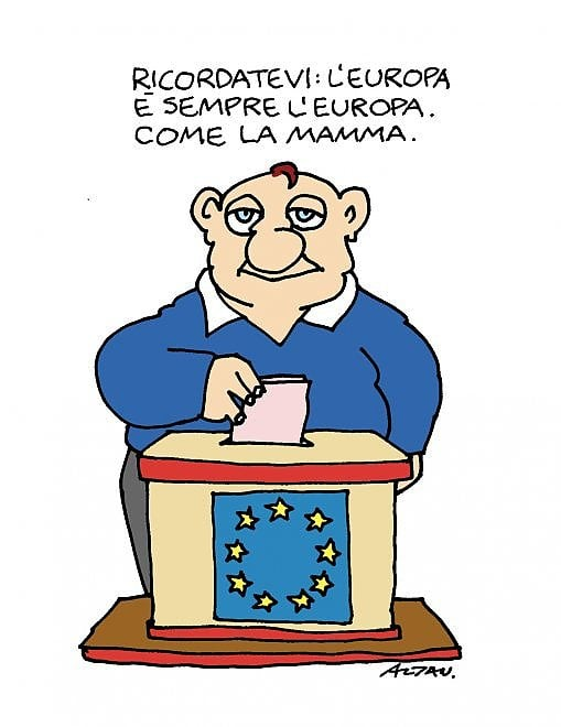 La vignetta di Altan