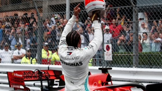 F1, Gp Monaco: vince Hamilton, Vettel secondo davanti a Bottas