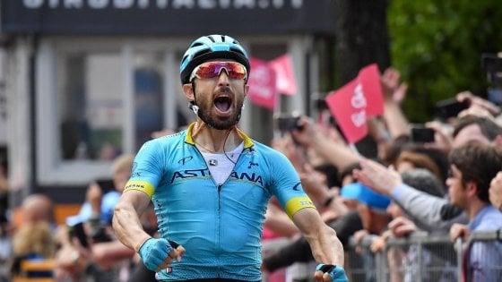 Giro d'Italia, Nibali stacca Roglic. Carapaz consolida la maglia rosa. Tappa vinta da Cataldo