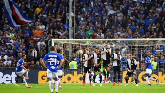 Sampdoria-Juventus 2-0: Defrel e perla di Caprari, Allegri lascia con una sconfitta