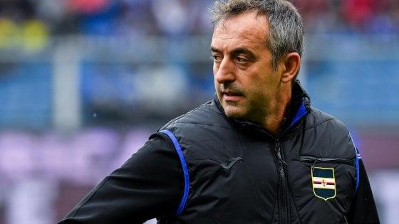Sampdoria, Giampaolo: ''Abbiamo alzato asticella, lunedì vedo Ferrero''
