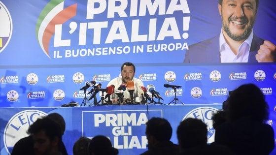 Europee, la Lega trionfa al Nord e al Centro, conquista anche l'Emilia e l'Umbria ma non vince nelle grandi città. M5S resiste al Sud e nelle isole