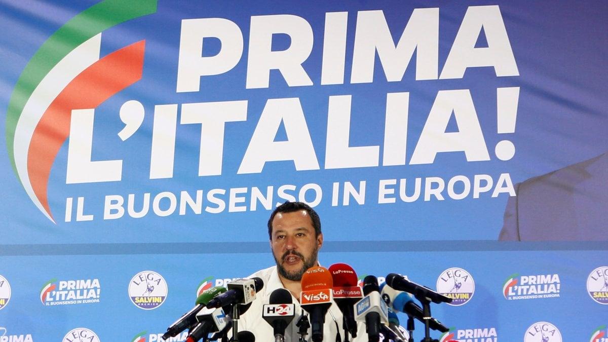 """Elezioni europee, trionfo Lega, Salvini: """"Mandato chiaro: accelerare su autonomia e Tav"""""""