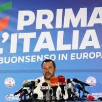 """Trionfo Lega, Salvini: """"Migranti prima battaglia che vinceremo in Europa"""". Grillo: """"Oggi..."""