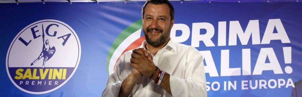 """Trionfo Lega, Salvini: """"Confermata la lealtà a Conte, ma su autonomia e Tav ora il mandato è chiaro: fare"""" video"""