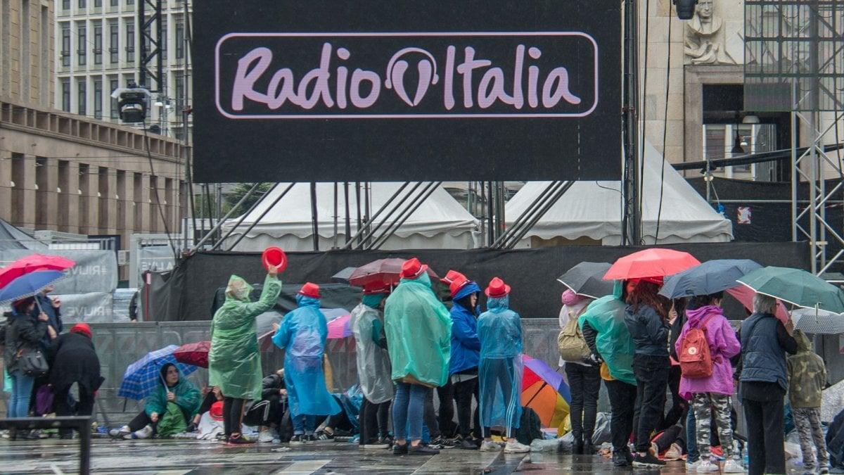 'Radio Italia Live', i concerti in piazza Duomo a Milano e a Palermo: da Ligabue a Mahmood