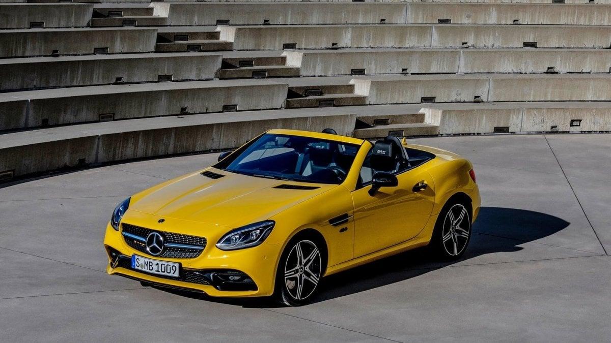 Mercedes SLC, il fascino della vera spider