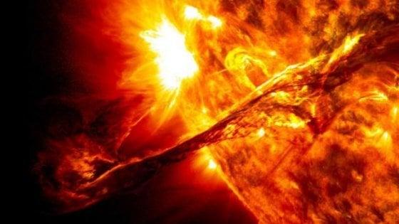 Individuata per la prima volta una gigantesca eruzione stellare
