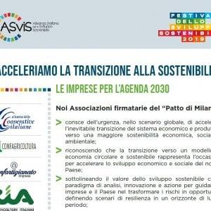 Patto di Milano per la sostenibilità: le aziende chiedono al governo di fare presto