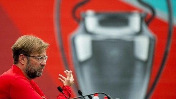 """Champions, Liverpool; Klopp: """"La finale? Bello giocarla 5' dopo il Barcellona..."""""""