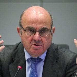 Il vice presidente della Bce, De Guindos